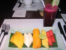 breakfast in hotel of Mettropolitan