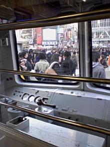 内部から渋谷を見る