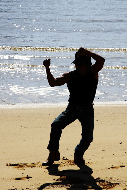 外に出たら写真を撮ろう-沖縄武術01