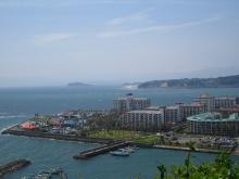 江ノ島と逗子マリーナ
