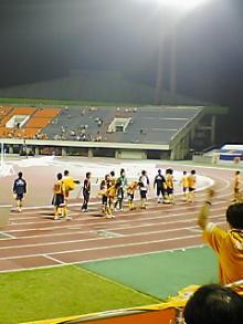 愛媛FCの試合終了後