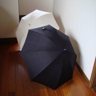 POLO RALPH LAUREN ポロラルフローレン レース付き日傘 ブラック - 江東区