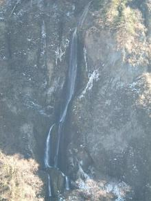 震動の滝(雌滝)
