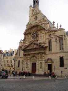 サン・テチェンヌ・デュ・モン教会