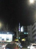 ミョンドンからの南山タワー