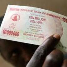 1000万ジンバブエ…
