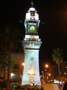 Clock Tower in Aleppo
