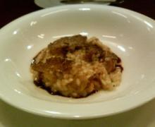 オーグルマン セップ茸とサマートリュフのリゾット