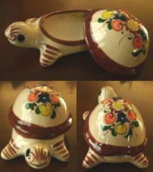 陶器の小物入れ チチカカ