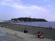 江ノ島遠景