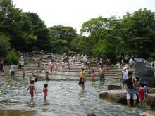 郷土の森ー水遊び場