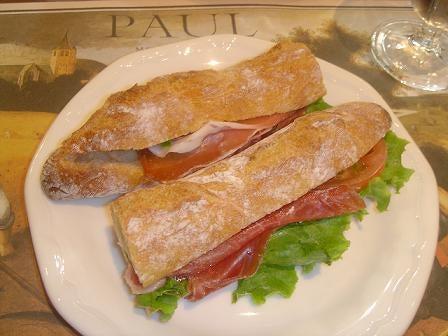 ポール サンドイッチ