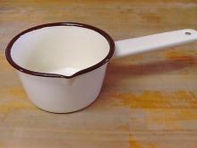 ホーロー ミルクソースパン