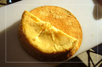 アキラ作チーズケーキ