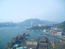 本日の関門海峡
