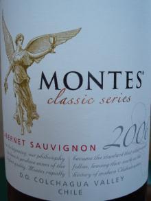 Montes Classic Series Cabernet Sauvignon 2006