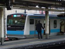 中央線の電車と釜-139