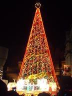 USJのクリスマスツリー8