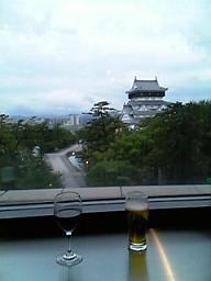 小倉城とワインとビール
