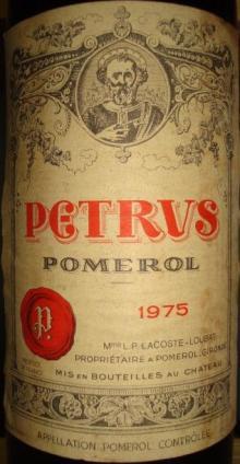 Ch Petrus 1975