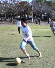 宮崎中学生とのサッカー