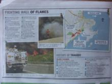 ニュースレター from オーストラリアのアデレード-bush fire 2