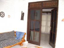 バンガロー玄関