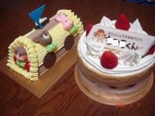 次男のB.Dケーキ♪