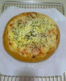 今日作ったピザパン