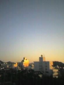 夕焼け空が優しかった