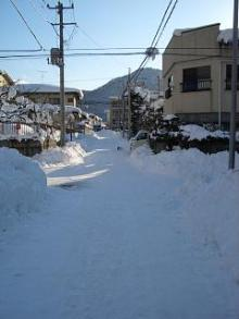 '06-山形雪道1