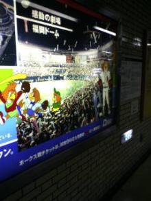 福岡ドームを見てきました。