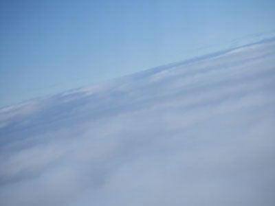 空in飛行機
