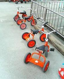 レンタル三輪車