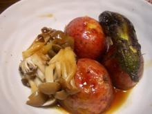 野菜の照り煮