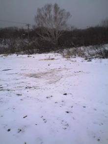 蔵王雪深し