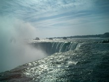 ナイヤガラ瀑布・カナダ滝
