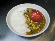 丸ごとトマトのカレー