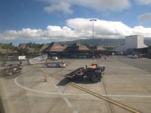 ハワイ島到着コナ空港2