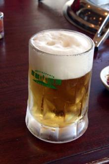 麒麟厨房の生ビール