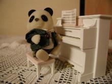 ピアノ弾くパンダの留学生