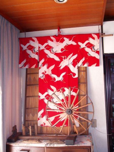 僕の毎日 そして過去-朱に鶴の図に心が....