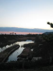 夕日ノ川。