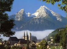 オーストリアのとある村の風景