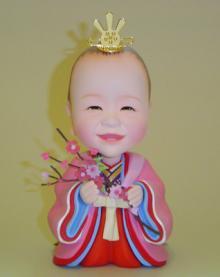 上賀茂からこんにちは。-そっくり人形 お雛様 初節句記念 十二単