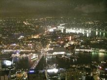 シドニータワーの夜景