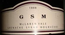 GSM McLAREN VALE GRENACHE SYRAH MOURVEDRE 1999