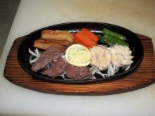 牛肉と帆立貝のオーブン焼き(温野菜添え)