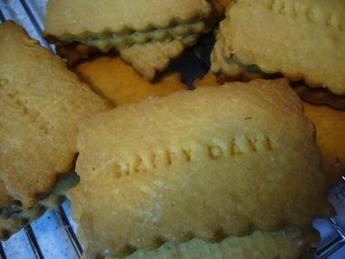 パンとお菓子と私。-型抜きクッキー