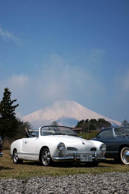 マイカルマンと富士山